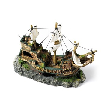 Classic Galleon with Sails 13 inch
